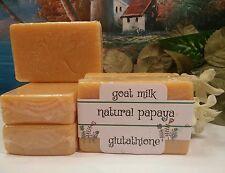 Goats Milk, Papaya Tumeric and Glutathion Skin  Soap Lightening Anti Aging