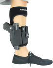 CCW Gun Ankle Holster with Calf Strap and Spare Magazine Pouch for Concealed