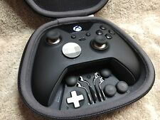 Elite Xbox One 1 Controller -Custom BLACKOUT, Buttons, ABXY w/ Letters FREE S&H