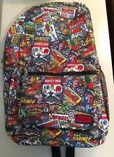 Marvel Comics Backpack 18� Classic Avengers Comic Book Covers School Bag Funko