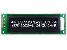 5V Black White 20x2 Character LCD Module Display w/Tutorial,HD44780,Bezel