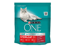 2x Purina One bifensis STERILCAT Beef Dry Pet Cat Food  450g