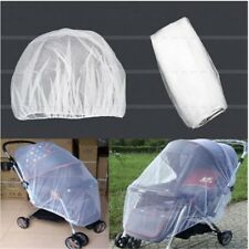 Universal Kids Stroller Mosquito Insect Net Cover Fit Pram Bassinet Car Seat HX