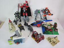 LEGO Box Lot Assorted Pieces bricks used police space emergency man bulk planes