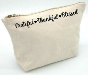 grateful thankful bless, gift, cosmetic ,makeup, toiletries, Birthday, Christmas