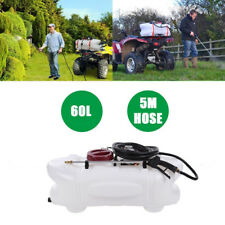 ATV QUAD SPRAYER KIT 60L Tank 60 psi Pump 12v 5m hose + Hand Lance for Garden