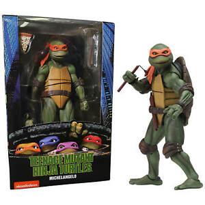 Michelangelo - Teenage Mutant Ninja Turtles - 7inch Movie Figure - NECA