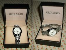 Orologio UOMO - ORLANDO QUARTZ - STAINLESS STEEL BACK - Z:310 - Completo