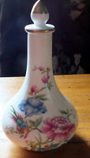 "Vintage Spode fine bone china perfume bottle "" Oriental Bird "" Scent bottle"