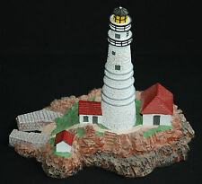 Danbury Mint Boston Light Lighthouse 1992 Historic American Lighthouse Series