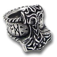 GENUINE Alchemy Gothic Ring - Thor's Runehammer | Men's Norse Hammer Jewellery