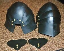Rugged Plastic Articulated Knee Armor for Sca Wma Larp Rattan Sword Combat