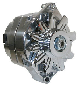 NEW POWERMASTER ALTERNATOR,POLISHED,12SI,100AMP,BUICK,CADILLAC,OLDS,REGAL,CALAIS
