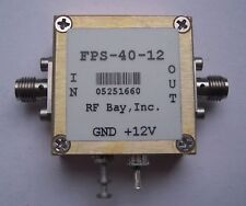 Frequency Divider 0.1-12.0GHz Div 40, FPS-40-12,New,SMA