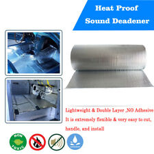 Sound Deadener Heat Barrier Mat Automotive Lightweight Thermal Insulation 23sqft