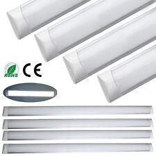 6 x 4FT 1200mm Suspended LED Tube Light Daylight Cabinet Ceiling Wide Panel Lamp