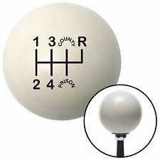 WHITE County Prison 6 speed shift knob for 1993-2002 Camaro & Firebird shifter
