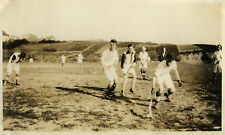 PHOTO ANCIENNE - VINTAGE SNAPSHOT - SPORT HOCKEY SUR GAZON WHITE STAR JEU 1926