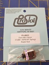 ProSlot PS-4001S Euro MK1 Motor Sealed 37000 + RPM 60 Springs Purple Seal MAR