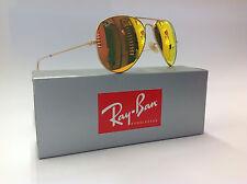 Ray-ban Occhiali da sole Aviator 3025 112/69 opache Oro Marrone Specchio