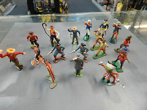 1/32 PLASTIC TOY SOLDIERS - WARRIORS OF THE WORLD and others