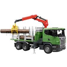Bruder SCANIA R-Serie Holztransport LKW Spielzeug Lastwagen Modell