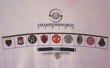 FC PORTO vs. GALATASARAY Champions World Series 2004 soccer T shirt XL tee