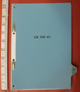Honda CB 750 K1 1971-74 Part Manufacturers Maintenance Manual