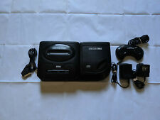 Sega Genesis MD Dual Console & Sega CD US Model 2 Attachment w/ Scart RGB Cable