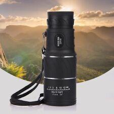 Monocular 16x52 Zoom Optical Clip-on Lens Telescope BAK4 For Smartphone Outdoor