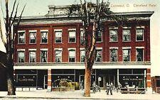 CLEVELAND OHIO CLEVELAND HOTEL AND POOL HALL CIRCA 1910