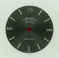 Original Rolex Air-King Precision 34mm 5500 Charcoal Stick Dial S/S #P13