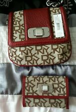 DKNY RED Side Bag with matching purse BNWT Ideal Gift