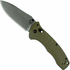 BENCHMADE 980 TURRET AXIS LOCK CPM S30V STEEL G10 HANDLE FOLDING KNIFE.
