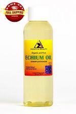 Echium Seed Oil Organic Refined Cold Pressed Premium Fresh Prime 100% Pure 2 Oz