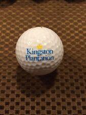 Logo Golf Ball-Kingston Plantation Golf Resort.North Carolina