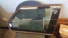 2008 CITROEN C4 GRAND PICASSO REAR RIGHT DRIVER OFF OSR QUARTER GLASS WINDOW