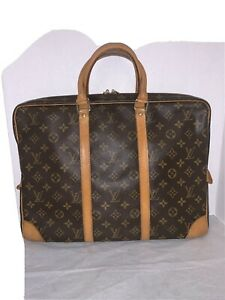 LOUIS VUITTON PORTE DOCUMENTS VOYAGE HAND BAG MONOGRAM M53361 Vintage TH0977