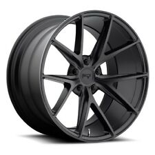 "4/set 19"" Staggered Niche M117 Misano Matte Black Wheels and Tires"