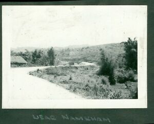 1940s WWII CBI Army ENGR Ledo Road Burma Photo near Namhkam