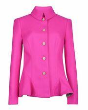 Ted Baker Bracti peplum jacket in hot pink TB1 UK8 RRP £295