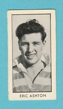RUGBY  -  D. C. THOMSON - SCARCE  RUGBY  CARD  -  ASHTON  OF  WIGAN  -  1958
