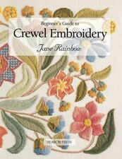 Beginner's Guide to Crewel Embroidery by Jane Rainbow (English) Paperback Book