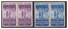 ITALIA  1950  - RADIODIFFUSIONE SERIE COPPIA  NUOVA  ** LUSSO