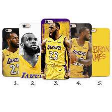 LEBRON JAMES LA LAKERS 23 2018 GEL PLASTIC PHONE CASE COVER IPHONE 5 6 7 8 X 11