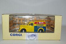 CORGI 96848 MORRIS 1000 VAN BIRDS CUSTARD MINT BOXED