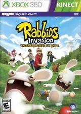 Rabbids Invasion (Xbox 360) KINECT Game - NEW, Sealed