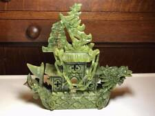 Carved Chinese Jade Stone Boat