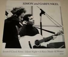 "SIMON & GARFUNKEL : SEVEN O'CLOCK NEWS (EP) 7"" Vinyl Single 45  (1991) P/S  Ex."