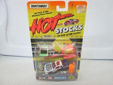 1992 Matchbox Hot Stocks Pit Stop Action Playset Matchbox Racing No 1